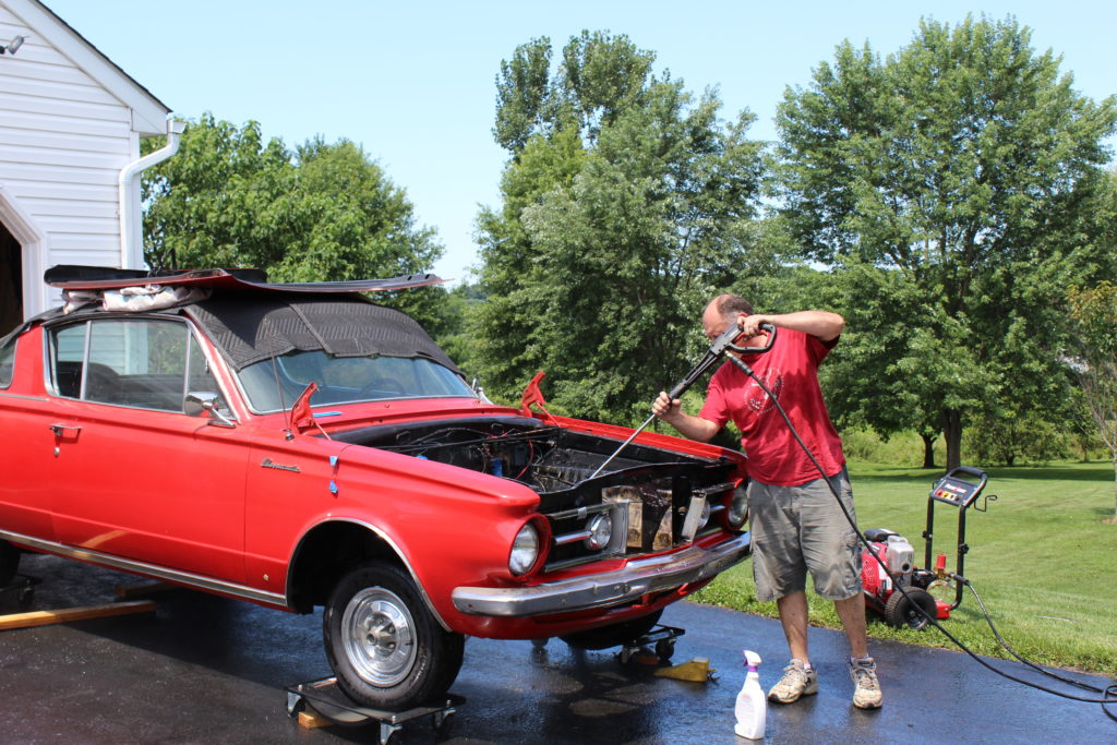 The Mopar Motorhead   1964 Plymouth Barracuda Restoration and Other